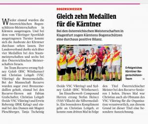 ÖSTM 2019 Kleine Zeitung