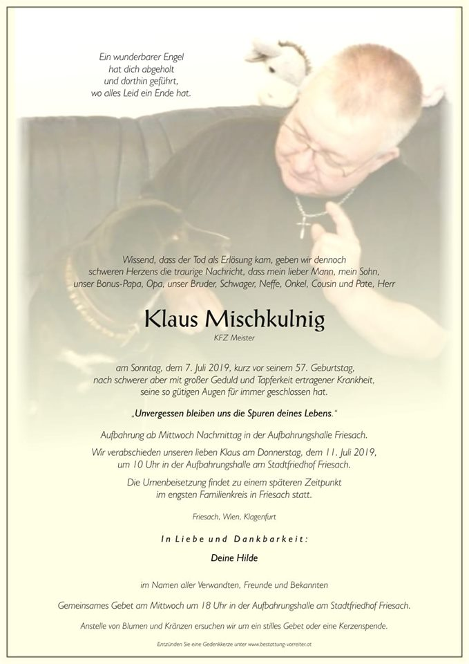 Klaus Mischkulnig KBSV